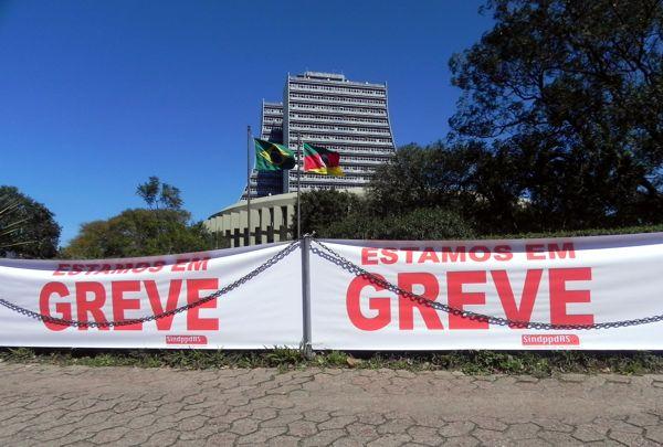 Greve da Procergs - Campanha Salarial 2011/2012