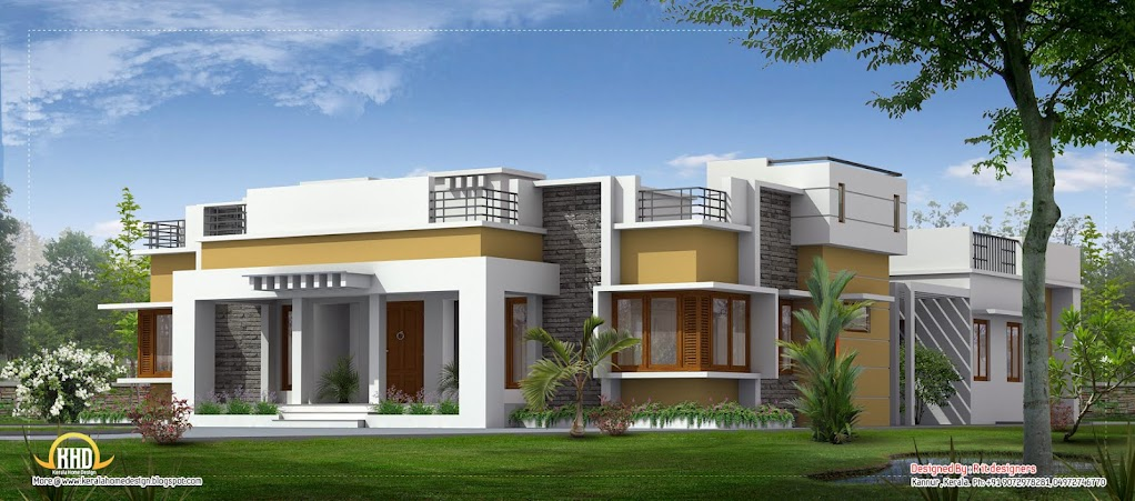 single storey house designs in india - Single Home Designs