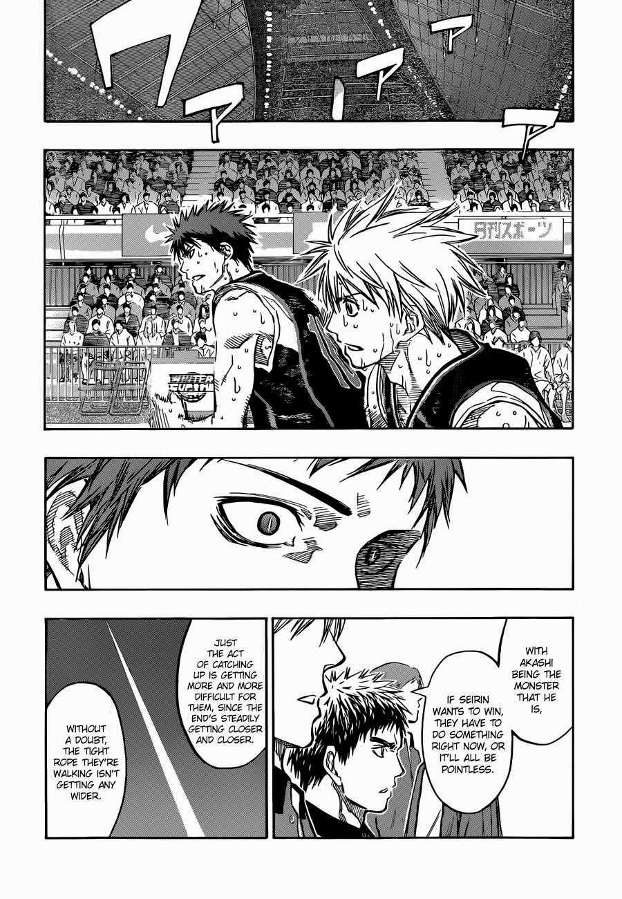 Kuroko no Basket Manga Chapter 263 - Image 04