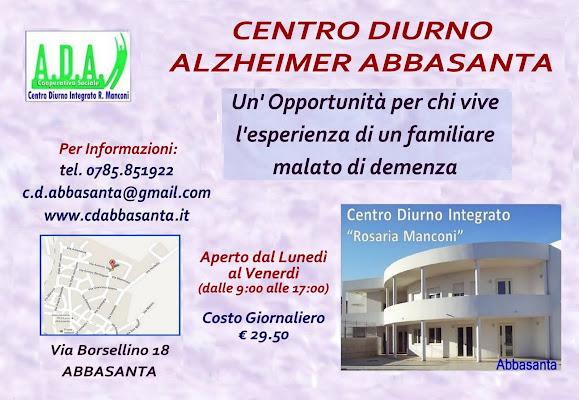 Centro Diurno Integrato Demenze Rosaria Manconi