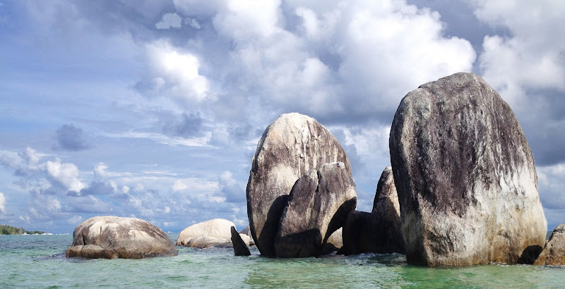Granite outcrops near Belitung