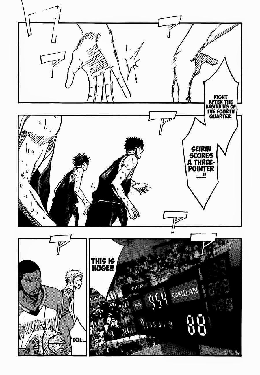 Kuroko no Basket Manga Chapter 258 - Image 04