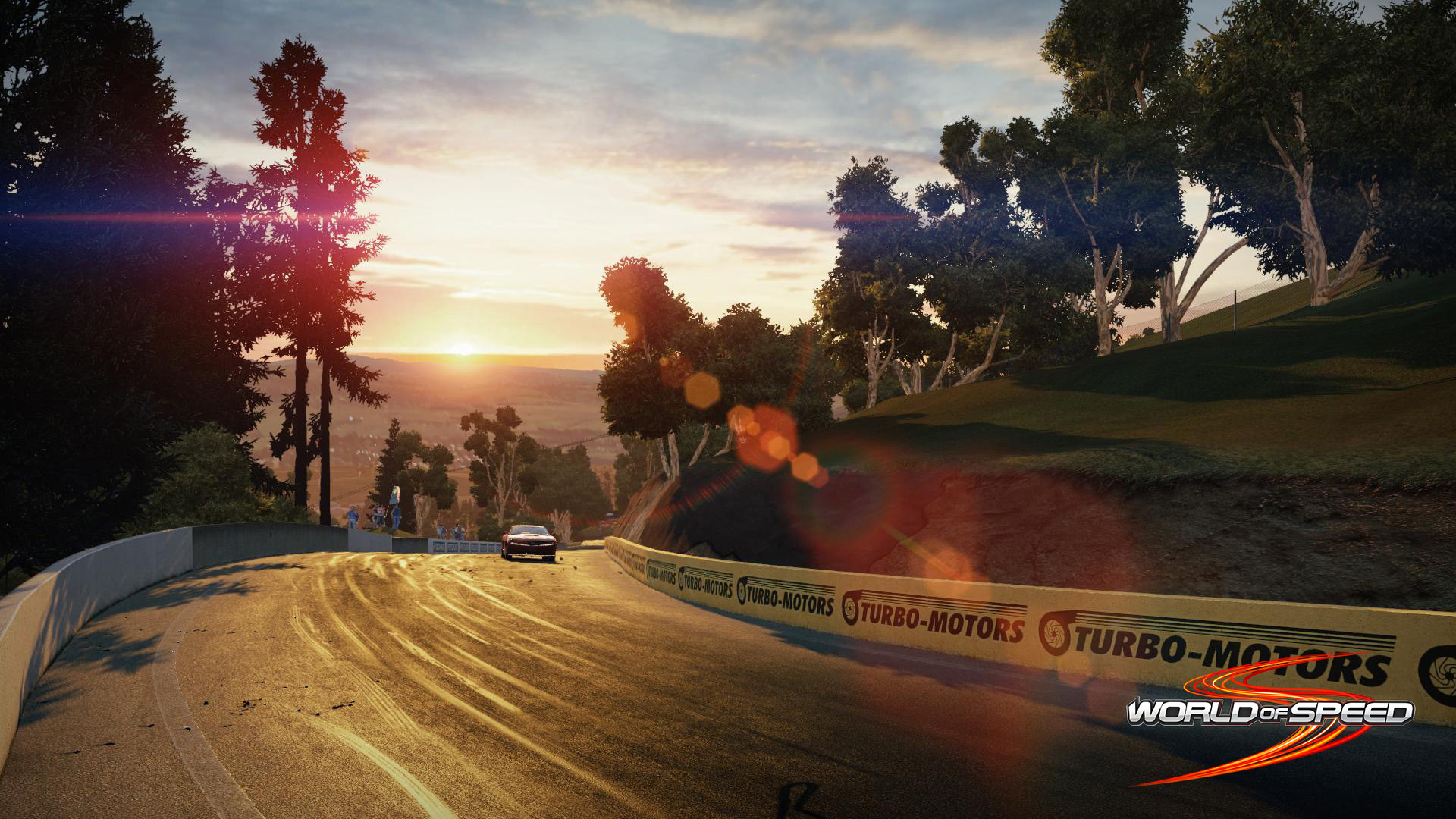 Ngắm trường đua Bathurst trong World of Speed