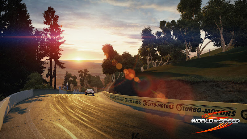 Ngắm trường đua Bathurst trong World of Speed 6