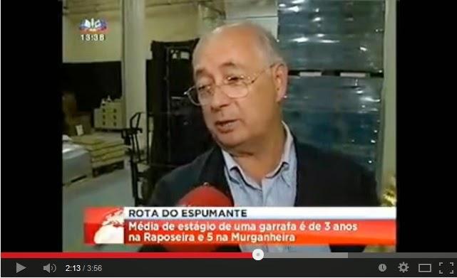 Rota do Espumante - Raposeira - Primeiro Jornal - SIC