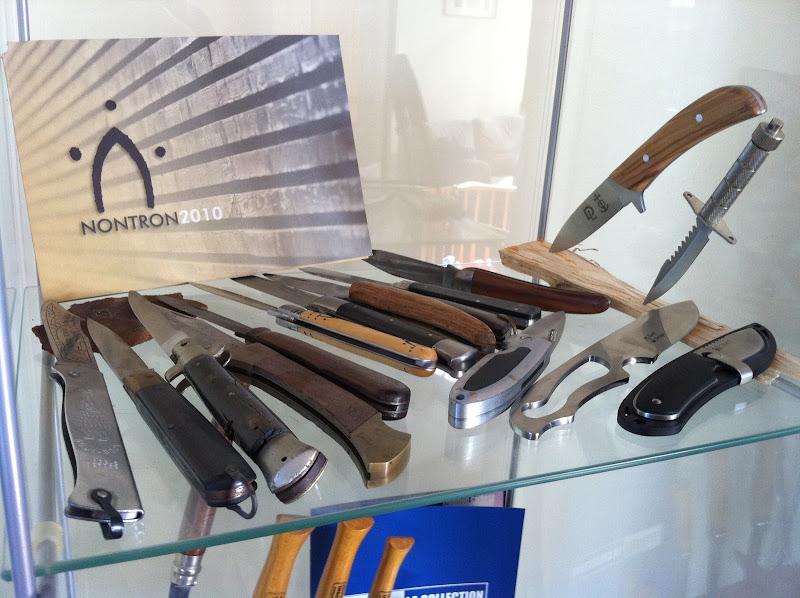 L'étage des couteaux que j'estime bien manufacturés.