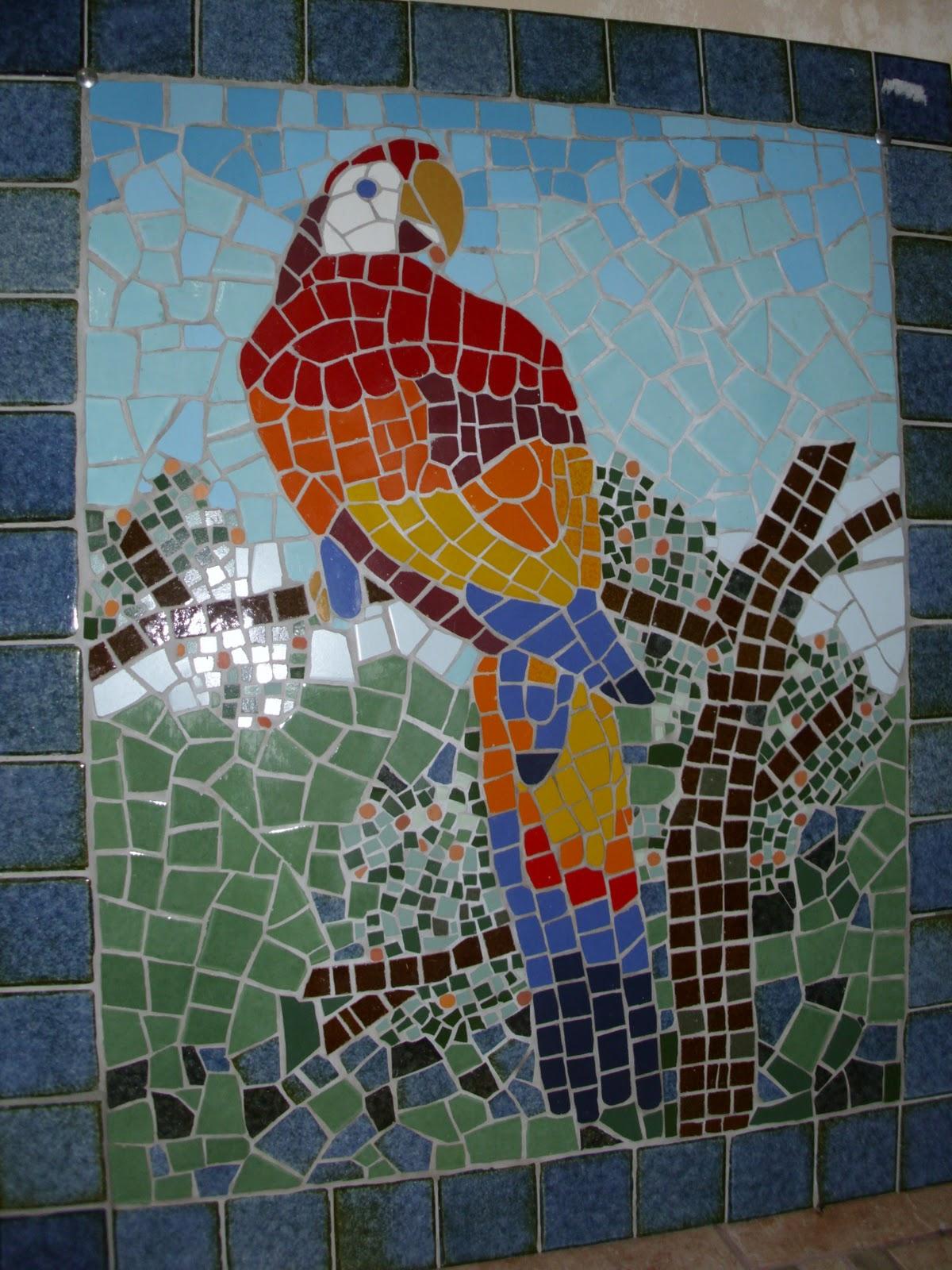 Telas tesselas mosaico com cer mica for Mosaico ceramica