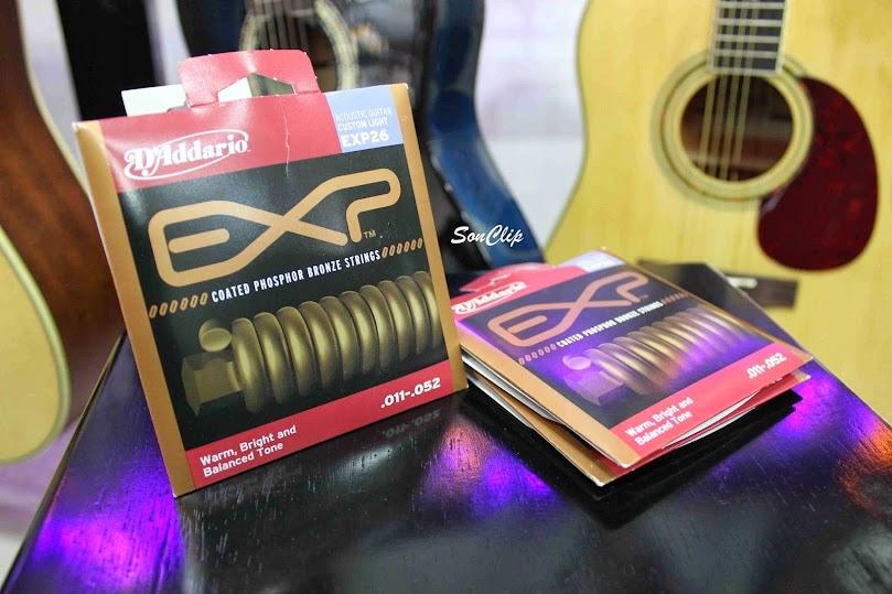 Dây Đàn Guitar Acoustic - D'Addario EXP26