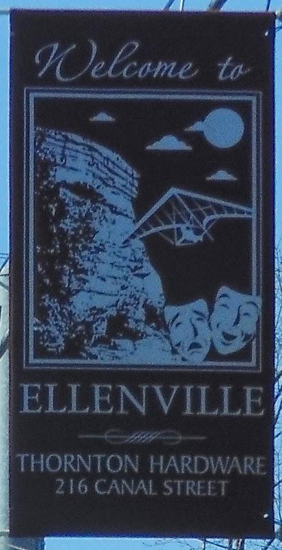 Ellenville street banner