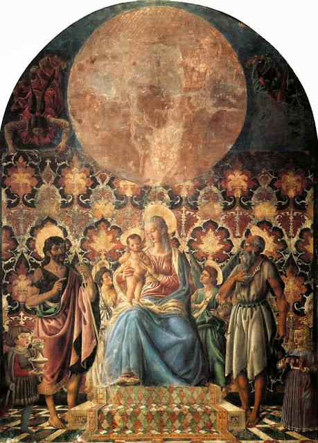 Andrea del Castagno - Madonna and Child with Saints