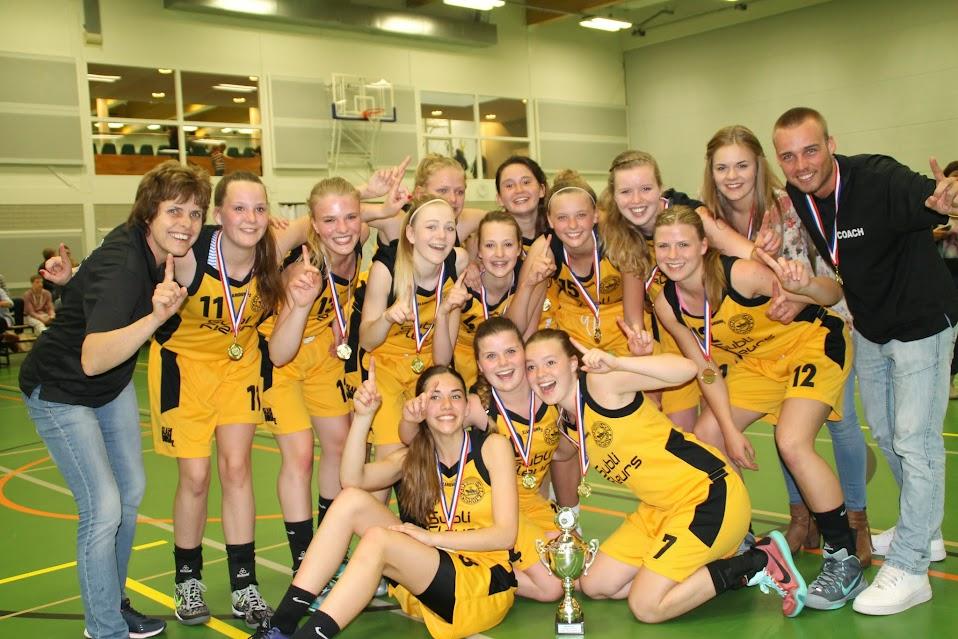Meisjes onder 18 Nederlands Kampioen