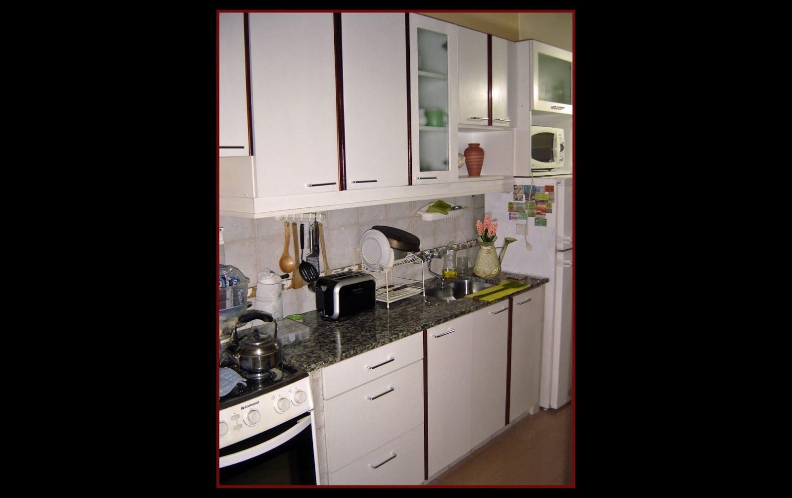 Cocina con vivos de madera la carpinteria de daniel for Frentes de muebles de cocina