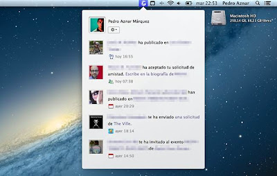 Notifications for Facebook, integra las notificaciones de Facebook en OS X