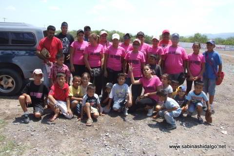 Equipo Subiris de softbol femenil de Vallecillo