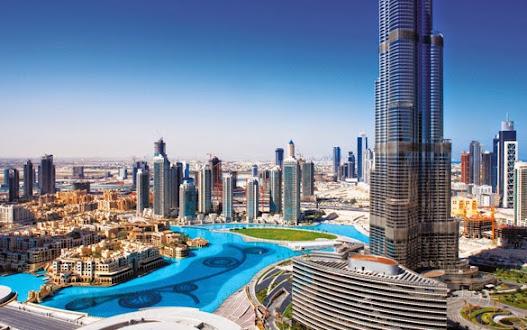 Một góc thành phố Dubai
