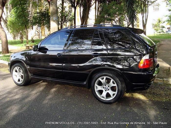 BMW X5 Sport 2002 V-8 4x4 Blidada IIIA usada