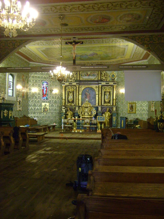 kościół w Dobroniu