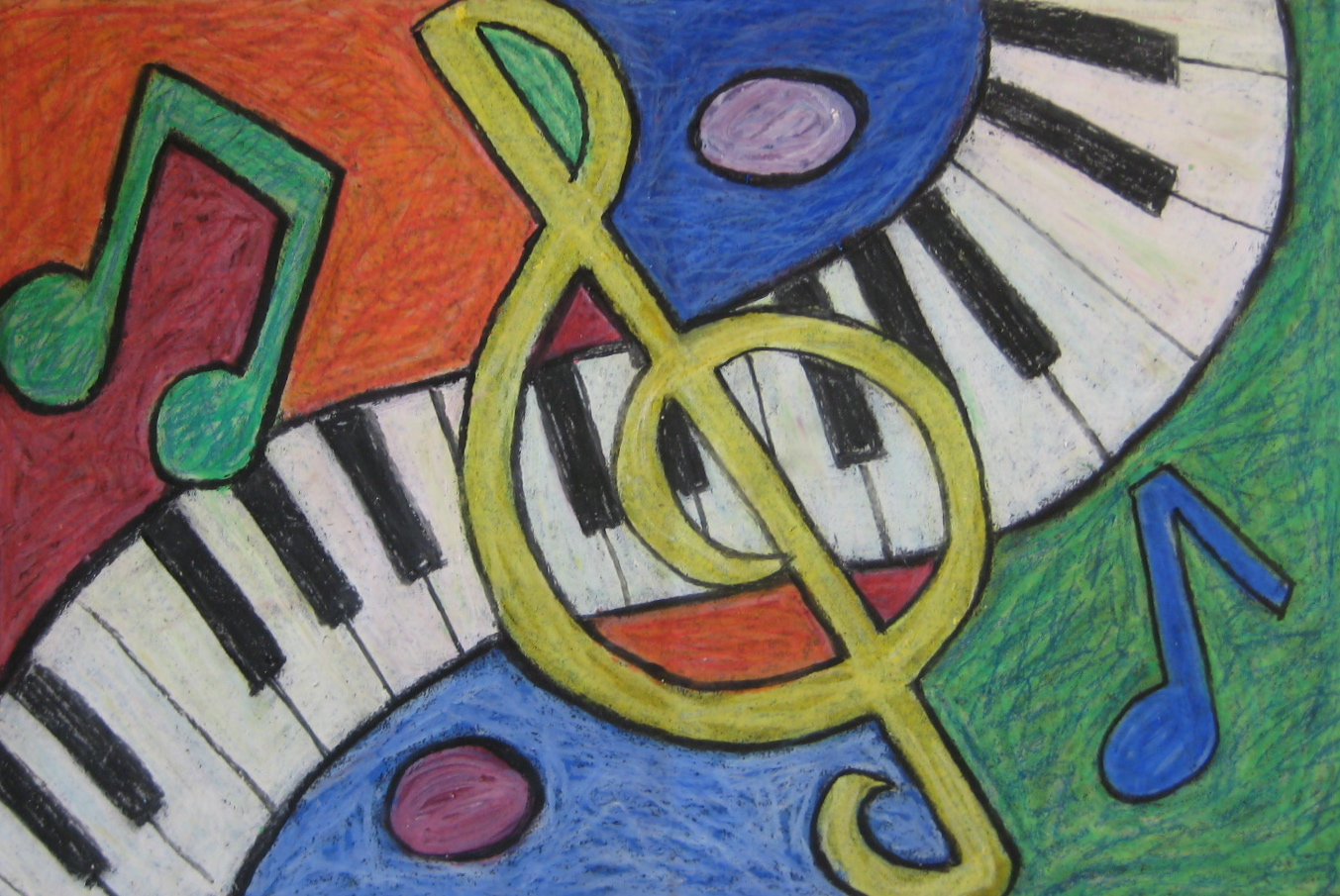 An abstract musical composition teachkidsart for The craft of musical composition