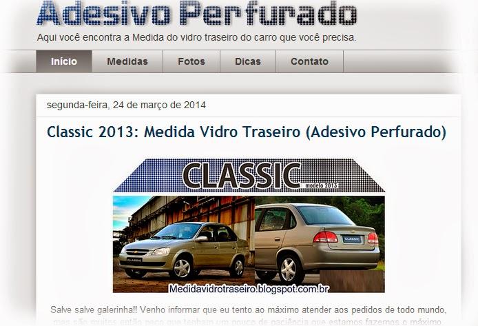 Print Medida Vidro Traseiro