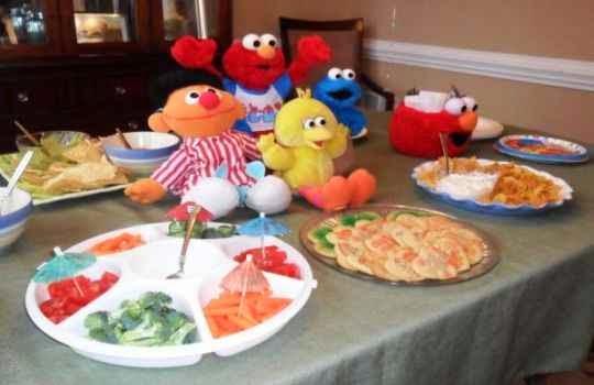 Centro de mesa para fiesta de niños 2