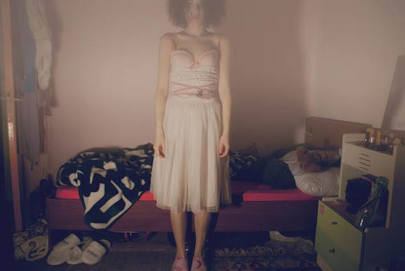 A soft night's terror - Ayça Eren self