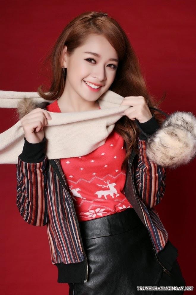 Bộ Ảnh Hot Girl Chi Pu Đón Giáng Sinh