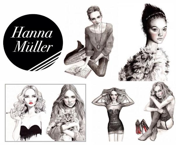 Hanna Muller Fashion Illustrations