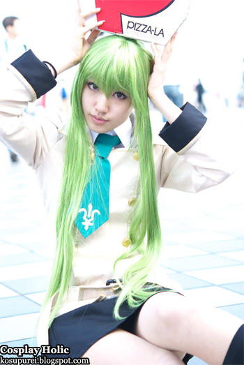 code geass: lelouch of the rebellion r2 cosplay - c.c. 2