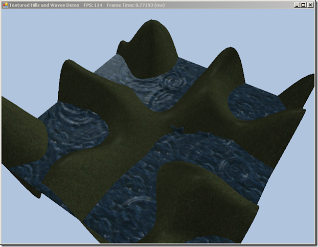 Adding textures to the simple terrain