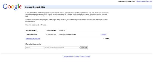 eliminar dominios google