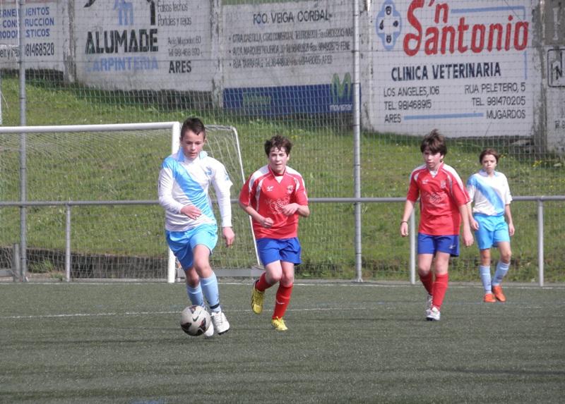 Instante do partido Numancia - G. Caranza da pasada temporada (13/04/2013)