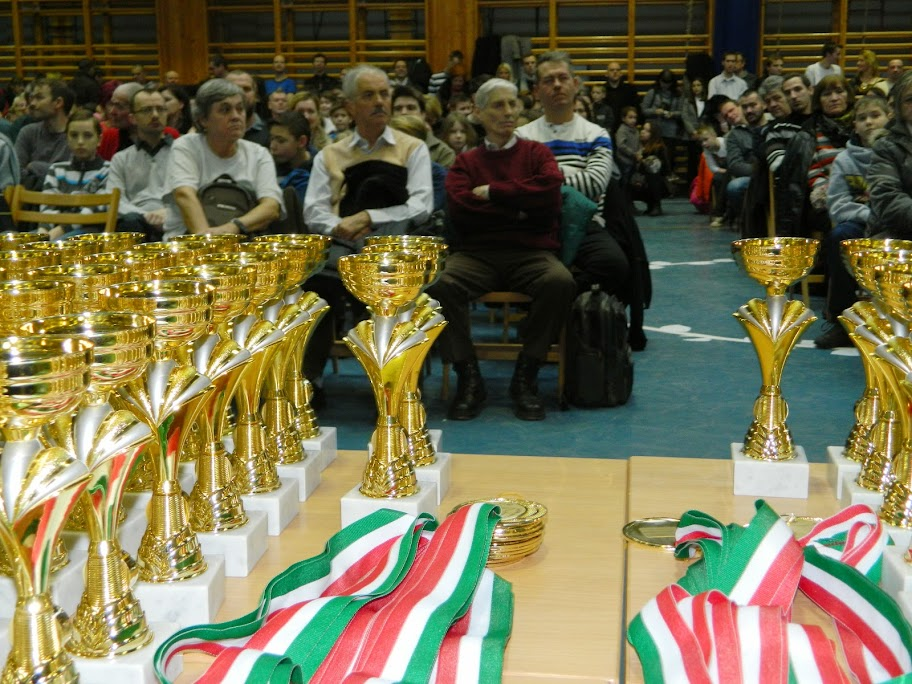 Budapest Kupa 2014. díjátadó - 2015. január 5. Szent Angéla Gimnázium tornaterme