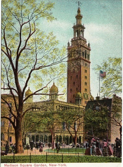 Madison Square Garden: Daytonian In Manhattan: Stanford White's Lost 1900 Madison