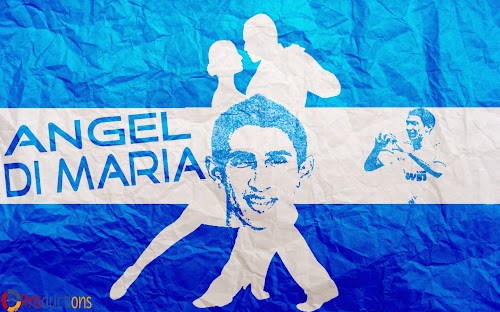 angel di maria desktop wallpaper