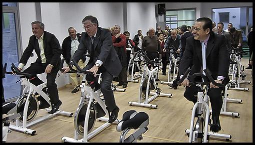 Telju fitness sl inauguracion del gimnasio municipal de for Gimnasio toledo