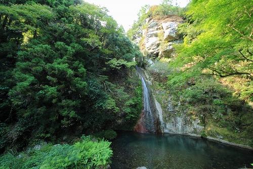 徳島名滝探訪 午尾の滝のイメージ画像