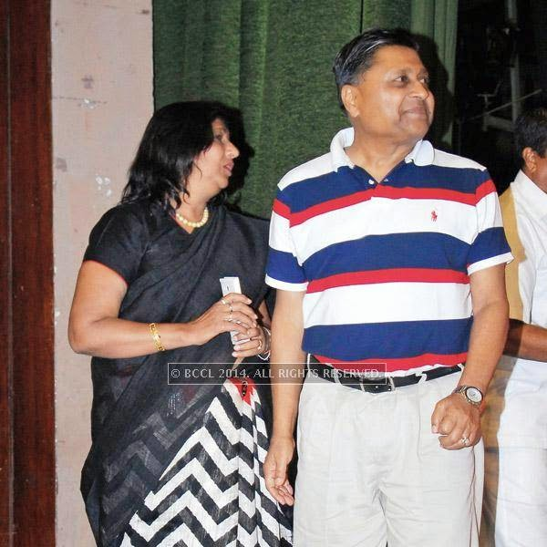 Smita Bansal's parents were also present during the play Hum Do Hamare Woh staged at Ravindra Rang Manch, Jaipur.