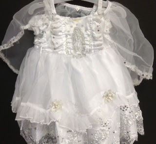 Angel Girl Toddler WHITE Christening Baptism Dress Gown/#XS/S/M/L/XL/0-3M/3-6M/6-12M/12-18M/18-24M/XSMALL/SMALL/MEDIUM/LARGE/X L/5614 at Sears.com