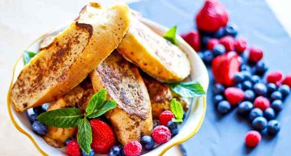 Low Sodium French Toast (Pain Perdu)