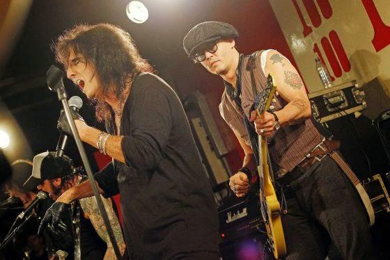Johnny Depp Vuelve A La Musica