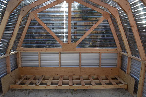 Ana white barn greenhouse diy projects Free greenhouse plans and designs