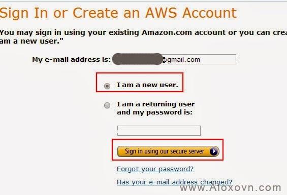 Đăng ký tài khoản Email Amazon SES - 01