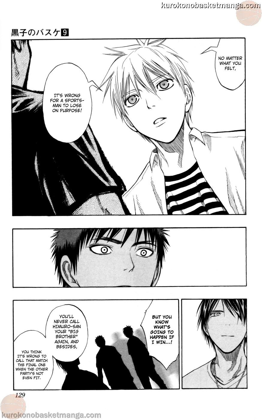 Kuroko no Basket Manga Chapter 77 - Image 03
