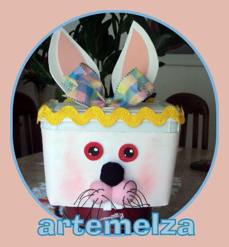 artemelza - coelho no pote de sorvete