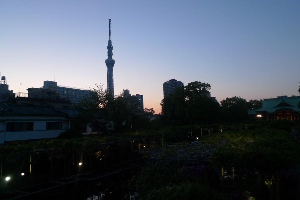 tokyo kameido tenjin skytree