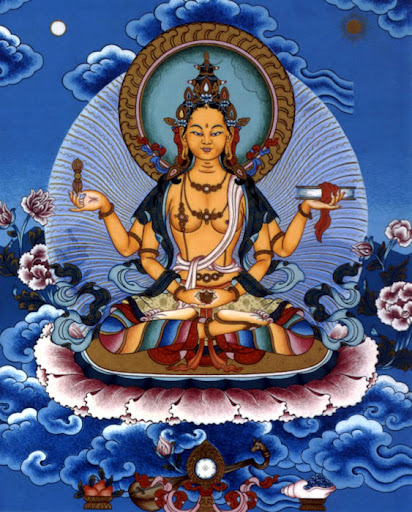 Goddess Prajnaparamita Image