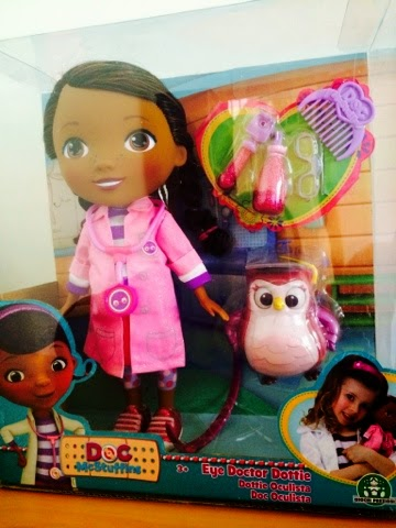 Eye Doctor Doc Mcstuffins Doll - Emma in Bromley