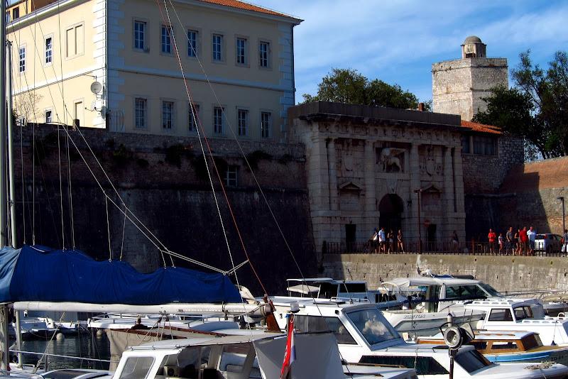 Zadar old town entrance