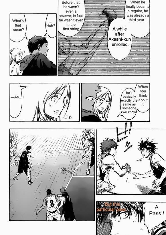 Kuroko no Basket Manga Chapter 238 - Image 14