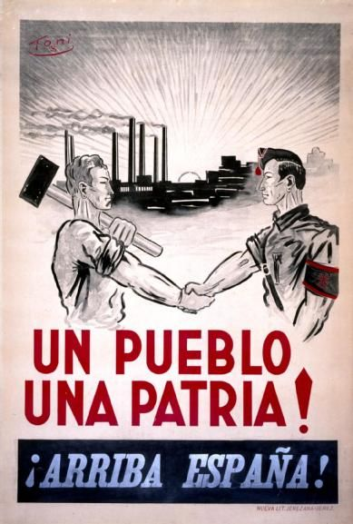 Один народ - Одна родина. Вперед, Испания!